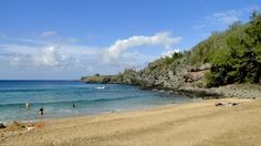 Picture of Kapalua's Mokulei'a Beach, Slaughterhouse Beach on Maui, Hawaii