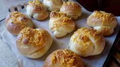 Mennonite Girls Can Cook: Ensaymada..sweet bread from the Philippines  Oct 28/14 blog.  I have had these buns and they are amazing!