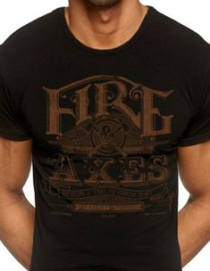 Firefighters Truck real men fight fires tee shirt black or white
