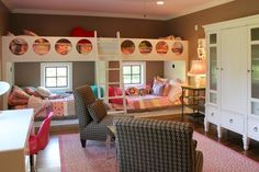 Bunk rooms - eclectic - kids - other metro - Stacy Jacobi
