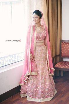Pink bridal lehenga!!