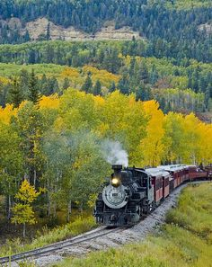 Chama to Antonito, CO in the fall.