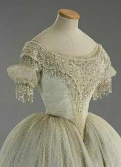 1860 ball gowns - Google Search