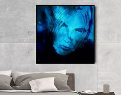 Add glam and appeal to your bedroom! Modern woman portrait - Original and art prints by FraBorArt on SAATCHI.   #walldecor #homedecor #interiordesign #painting #modernart #abstract #art #portrait #woman #blue #girl #digitalart #fraborart #style #saatchi #saatchiart #saatchiartist #saatchigallery #saatchiartilove