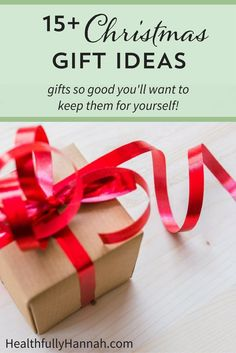 Christmas Gift Ideas | Gift Guide | Holiday Gift Ideas | Natural Gift Guide | Healthy Gift Guide | Christmas Gift Ideas for the Health Lover | Gift Guide for Her
