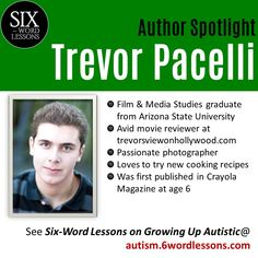 Six-Word Lessons on Growing Up Autistic: 100 Lessons to Understand How Autistic People See Life (The Six-Word Lessons Series) Autistic People, Six Words, Media Studies, Arizona State University, Passionate Love, What Is Like, Autism, Growing Up, Wisdom