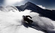 powder turn by Kirill Umrikhin, via 500px
