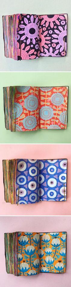 Sketchbook patterns by Molly Egan