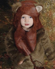 Homemade Ewok costume for a 2-year-old  sc 1 st  Pinterest & 7 best Ewok Halloween Costume images on Pinterest   Ewok costume ...