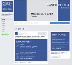 What is the size of the profile picture in Facebook? How wide is page of your brand? Here are all the numbers you need and you can even download a handy PDF Facebook cheat sheet.