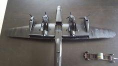 Airfix Avro Lancaster 617 Squadron Dambusters Lancaster, Espresso Machine, Scale Models, Modeling, Coffee Maker, Aircraft, Kitchen Appliances, Home, Espresso Coffee Machine