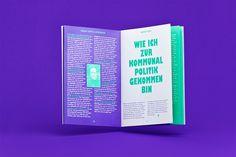 Schampus Magazine #69 »Election Issue«  Spread, by Bergmann Studios, 2011