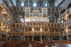 Organy, Kościół Pokoju w Jaworzu.