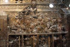 Pulpito della Resurrezione - Donatello (1460)