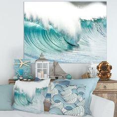 Beach Room Decor, Beach House Decor, Beach Home Decorating, Beach Theme Office, Beach Chic Decor, Decorating Tips, Interior Decorating, Coastal Living, Coastal Decor