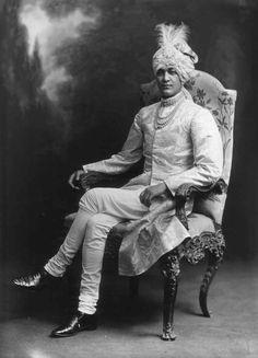 Maharaja of Cooch Behar Lafayette 1913 V&A