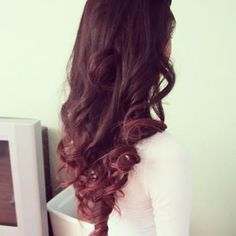 curls and color