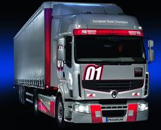 european+big+trucks | Special edition 'Truck Racing 2013' Renault Premium: low on fuel and ...