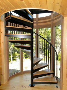 Best Our Spiral Staircases For Decks Are Made With Maintenance 640 x 480