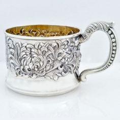 Vintage Silver Shiebler Baby Cup