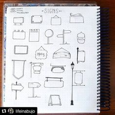 #Repost @lifeinabujo with @repostapp ・・・ It's time to doodling! Here is week 15 of @therevisionguide challenge: signs! #therevisionguide_52wvv #52wvv_week15