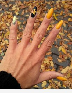 50 Fall Nail Art ideas and Autumn Color Combos to try on this season - Nägel /Winter - Nageldesign Classy Nails, Trendy Nails, Cute Nails, My Nails, Cute Fall Nails, Fall Acrylic Nails, Autumn Nails, Winter Nails, Nails Design Autumn