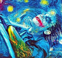 Starry Night Joker mashup.