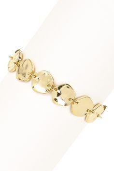 Golden Madhurra Hand Forged Bracelet