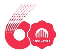 Company Anniversary, Anniversary Banner, 2 Logo, Typo Logo, Water Bond, Brochure Design, Logo Design, Poster Fonts, Band Logos