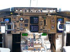 RNZAF757-200 cockpit  Type: Boeing 757-2K2 Registration: NZ7571 Location: Christchurch International Airport Date: 29/09/2012