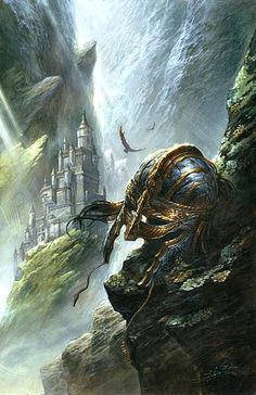 Reading: The Children of Hurin. [Tolkien] One of Tolkien's lesser known and extremely underrated works. High Fantasy, Medieval Fantasy, Sci Fi Fantasy, Fantasy World, Jrr Tolkien, Tolkien Books, Alan Lee, Gandalf, Legolas