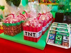 Decoração Minecraft By Lilian Ruas Tribo da Festa – Blog Inspire sua Festa