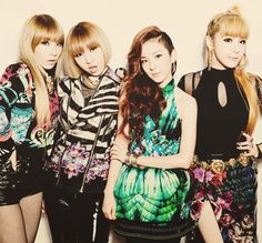 2NE1, My introduction to the K-Pop world. Everyone Repin this then go to YouTube and watch the m/v lonely and come home. They are amazing.
