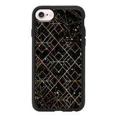Starry Night Sky - iPhone 7 Case And Cover (52 AUD) ❤ liked on Polyvore featuring accessories, tech accessories, iphone case, clear iphone case, apple iphone case, iphone cover case and iphone cases