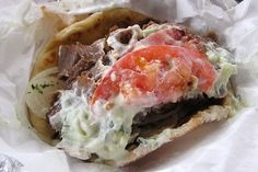 Chicago Style Gyro Sandwich!!! Sure, you can get Gyro's other place but... I promise you, once you've had one from Chi-Town, It's a rap!