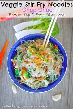 veggie stir fry noodles - gluten-free, dairy-free and allergy friendly!