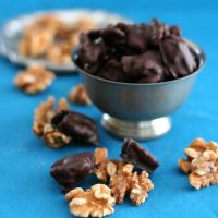 Low Carb Chocolate Covered Walnut Recipe | All Day I Dream About Food
