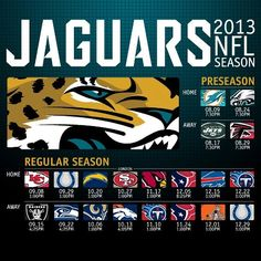 Here Is The Official 2017 Jaguars Schedule Standunited Nfl Football