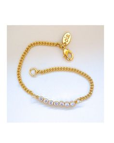 Delicate Zirconia Bracelet