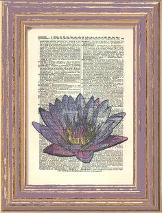 Lotus Glowing Purple Original Photo Thailand by HangWithUsToday, $10.00