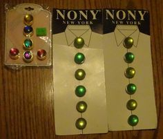 NONY Button Covers & Others by fowlnfelines on Etsy
