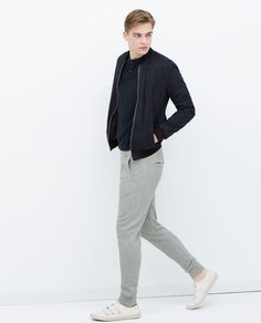 BASIC PIQUE TROUSERS