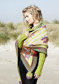MEGA STAR SHAWL knitkit - knitting - Yarn kits - knit - knitkits - Lambswool & Alpaca Wool