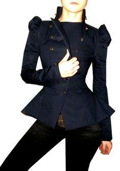 ZOE jacket by lauragalic on Etsy,