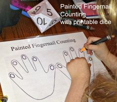 Painted Fingernail Counting