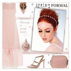 """""""Spring Formal!"""" by alves-nogueira ❤ liked on Polyvore featuring Valentino"""