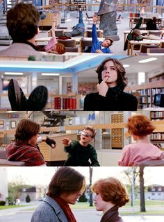 """""""The Breakfast Club"""" (1985) I am a girl of the eighties. Love me some Emilio, Charlie and RDJ! (All the really bad guys!)"""