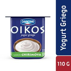 Yogur griego Oikos sabor chirimoya a domicilio | Cornershop - Chile Chile, Yogurt, Personal Care, Jars, Greek Yogurt, Plain Yogurt, Raspberry, Personal Hygiene, Chili