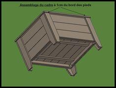 Fabrication d'un bac à jardiner en bois de palette