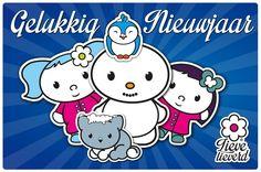 Lieve Lieverd wenst iedereen een heel gelukkig nieuwjaar en veel liefs toe! #lievelieverd #gelukkig #nieuwjaar
